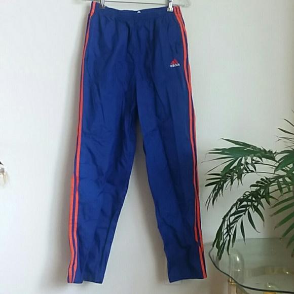 Adidas snap track pants